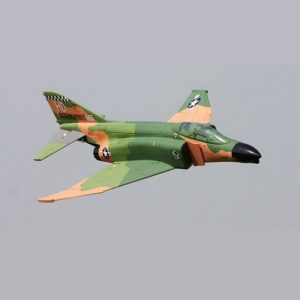 هواپیمای مدل FMS F4 (Camo) 70mm Ducted Fan Fighter Jet